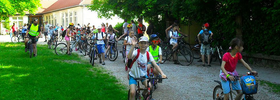 Kerékpárral az úton